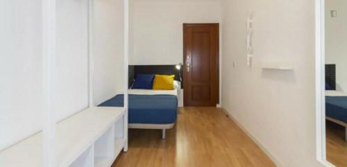 Tasteful single bedroom in Guindalera  - Gallery -  1