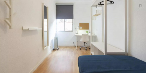 Tasteful single bedroom in Guindalera  - Gallery -  2