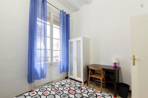 Very cool double bedroom near the Sant Antoni metro  - Gallery -  3