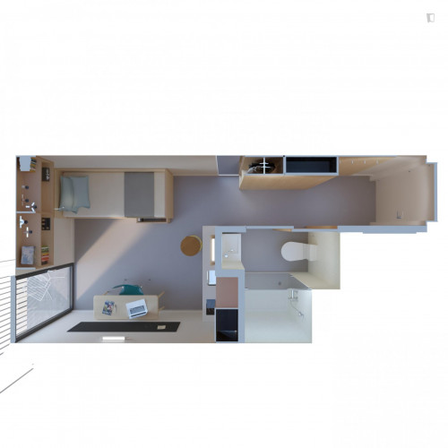 Studio in Student Residence near Nova School of Business and Economics in Carcavelos  - Gallery -  3