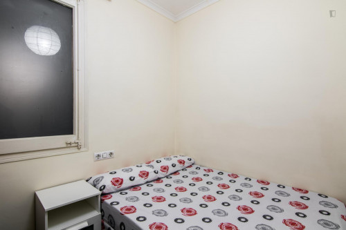 Very nice double bedroom near the Sants metro station  - Gallery -  3