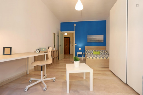 Welcoming double bedroom in a student flat, in Trastevere  - Gallery -  6