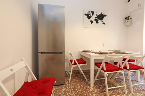 Welcoming double bedroom in a student flat, in Trastevere  - Gallery -  9