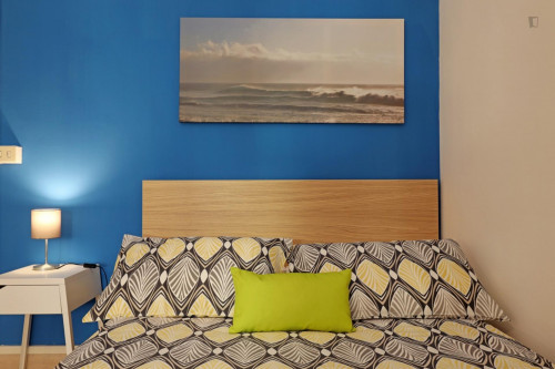 Welcoming double bedroom in a student flat, in Trastevere  - Gallery -  4