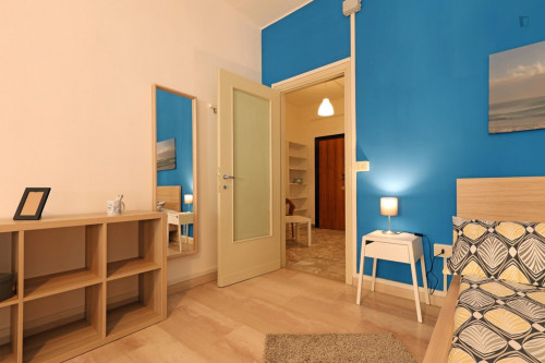 Welcoming double bedroom in a student flat, in Trastevere  - Gallery -  5