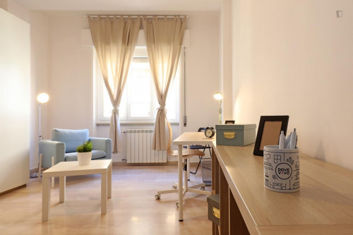 Welcoming double bedroom in a student flat, in Trastevere  - Gallery -  3