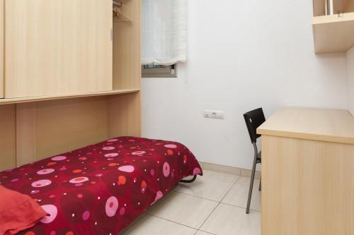Suitable single bedroom in a 2-bedroom apartment, in L'Hospitalet de Llobregat  - Gallery -  1
