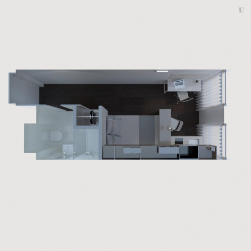 Studio Superior in Residence in Santa Apolónia with Gym and Pool  - Gallery -  3