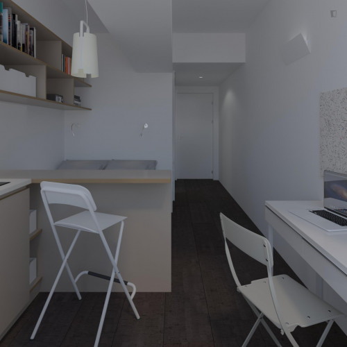 Studio Superior in Residence in Santa Apolónia with Gym and Pool  - Gallery -  1