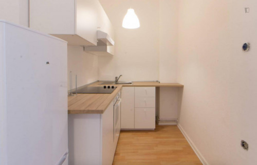 Well kept single room with enclosed balcony in Tempelhof-Schöneberg  - Gallery -  6
