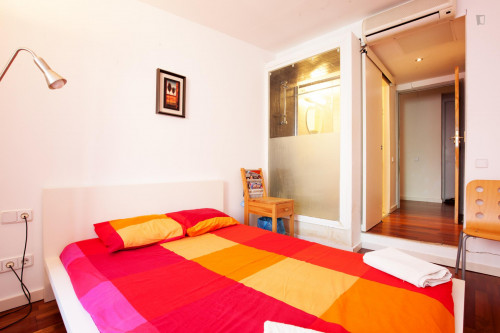 Very cool double ensuite bedroom, next to Drassanes metro station  - Gallery -  1