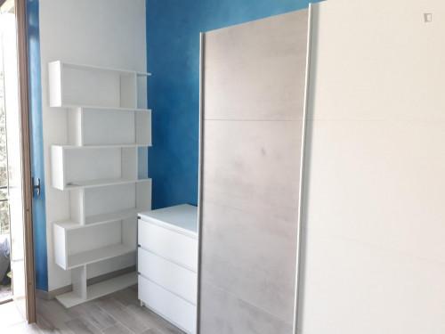 Single bedroom in a 3-bedroom apartment near Giardino di Piazza Rostagni