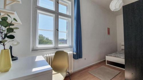 Charming double bedroom in a 5-bedroom apartment in Wilhelmstadt