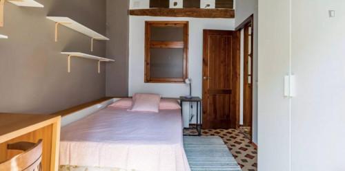 Sunny double bedroom in La Roqueta  - Gallery -  2