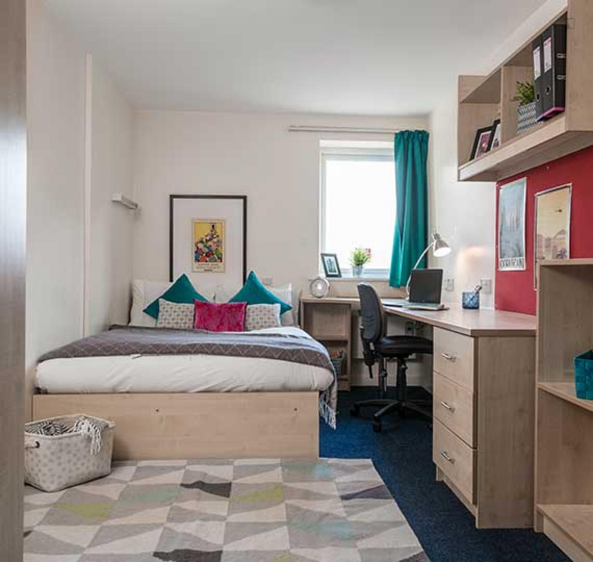 Amazing double ensuite bedroom in a 4-bedroom apartment ...