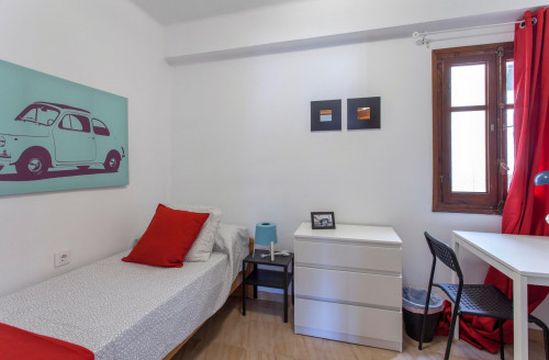 Sublime single bedroom in a student flat, in Mont-Olivet  - Gallery -  1