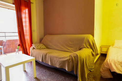 Wide Single Bed Bedroom in L'Amistat  - Gallery -  2
