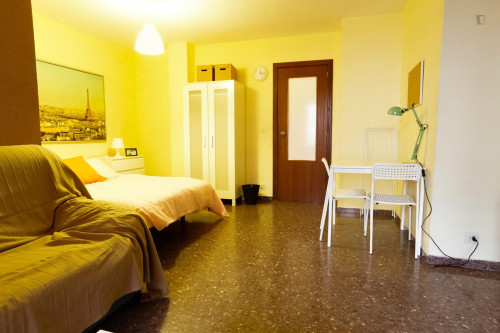 Wide Single Bed Bedroom in L'Amistat  - Gallery -  3