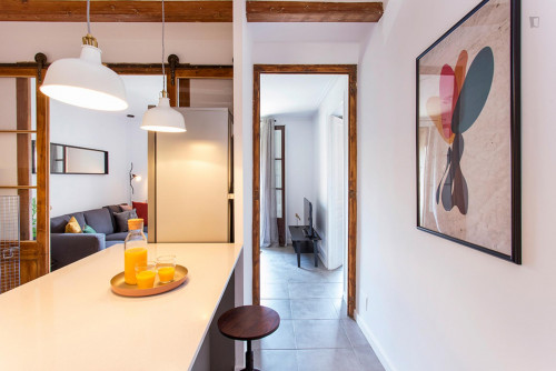 Wonderful 3-bedroom apartment near Sant Antoni metro station  - Gallery -  2