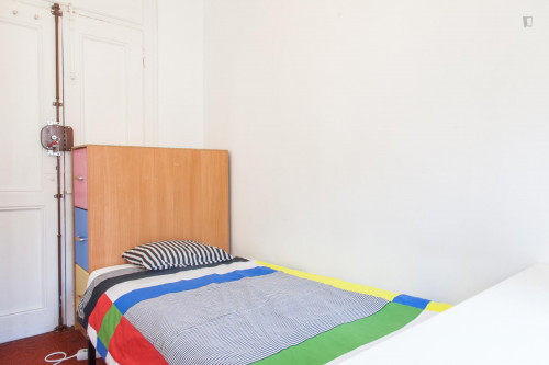 Youthful communicate single bedroom with a nice view, near Universidade Autónoma  - Gallery -  2