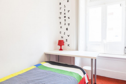 Youthful communicate single bedroom with a nice view, near Universidade Autónoma  - Gallery -  1
