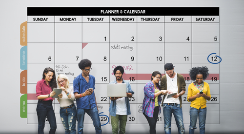 Schedule to manage your time