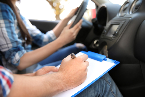 Kinesthetic Learner driving himself
