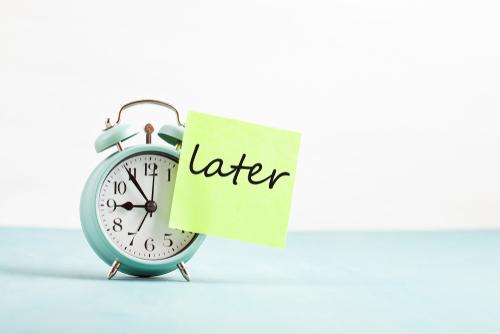 Stress Learner procrastinate a lot