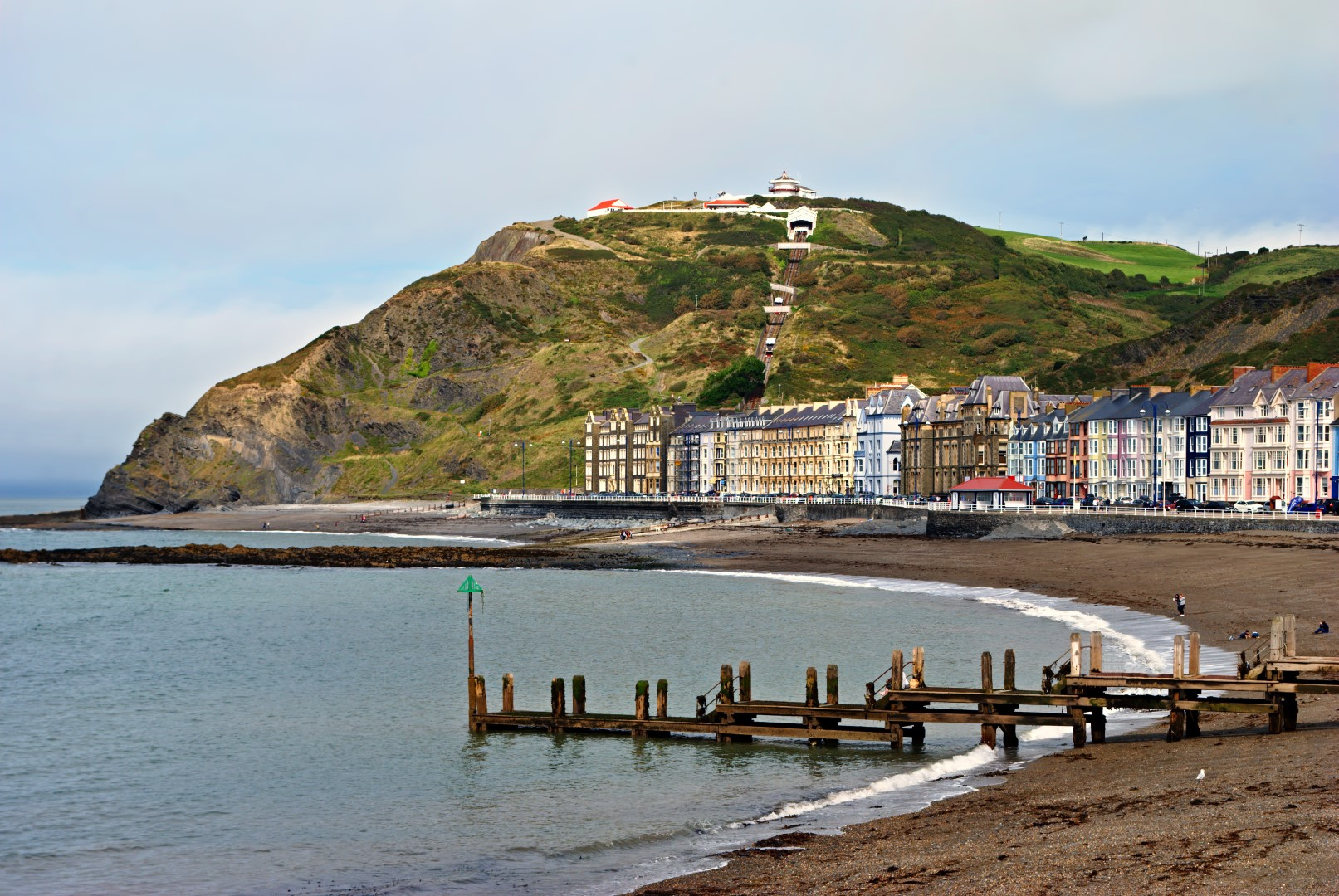 Student accommodation in Aberystwyth