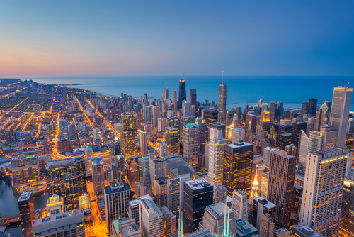 Student accommodation in Chicago, Illinois