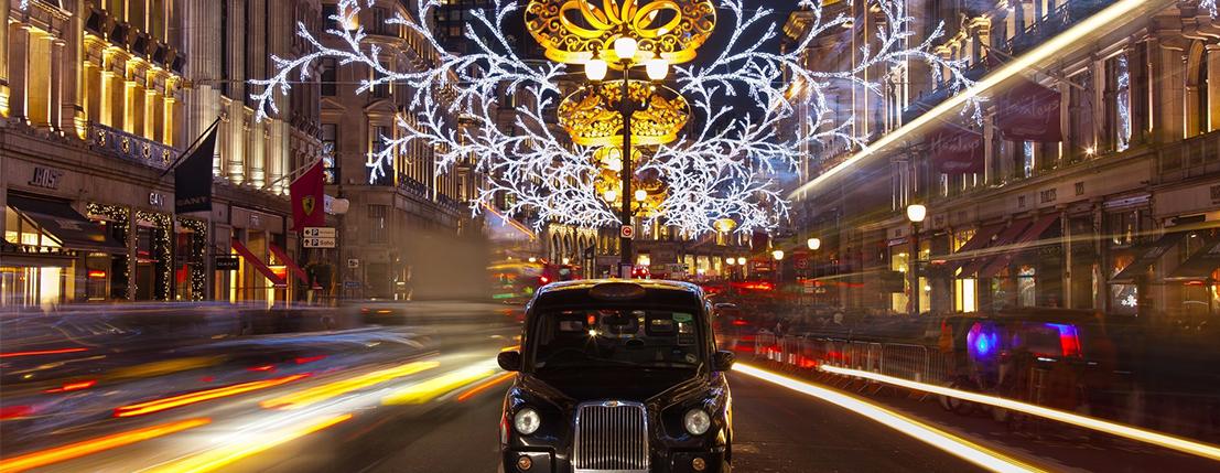 London's Sparkling Christmas Lights in November