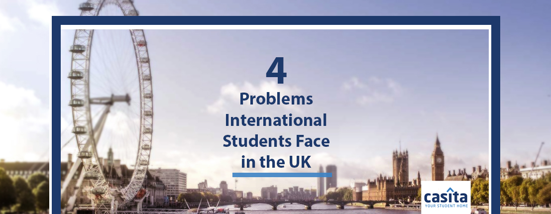 4 Problems International Students Face in the UK