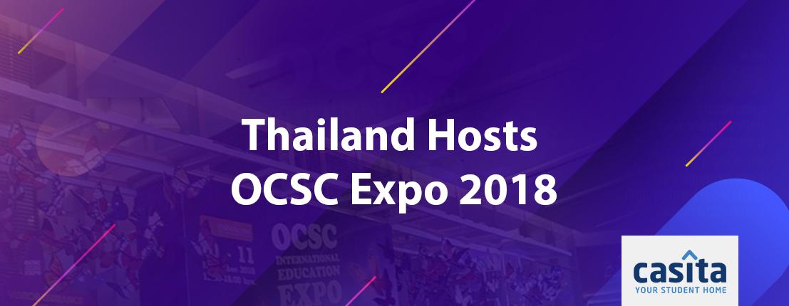Thailand Hosts OCSC Expo 2018