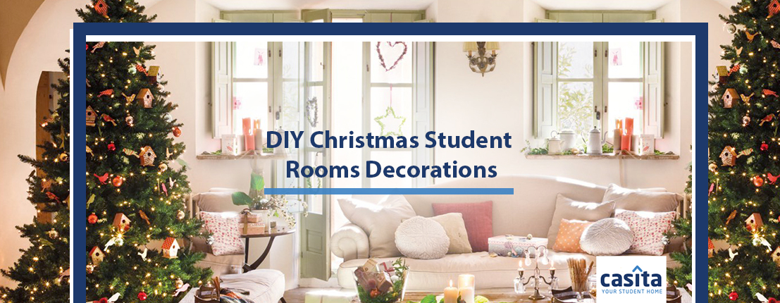 DIY Christmas Student Rooms Decorations