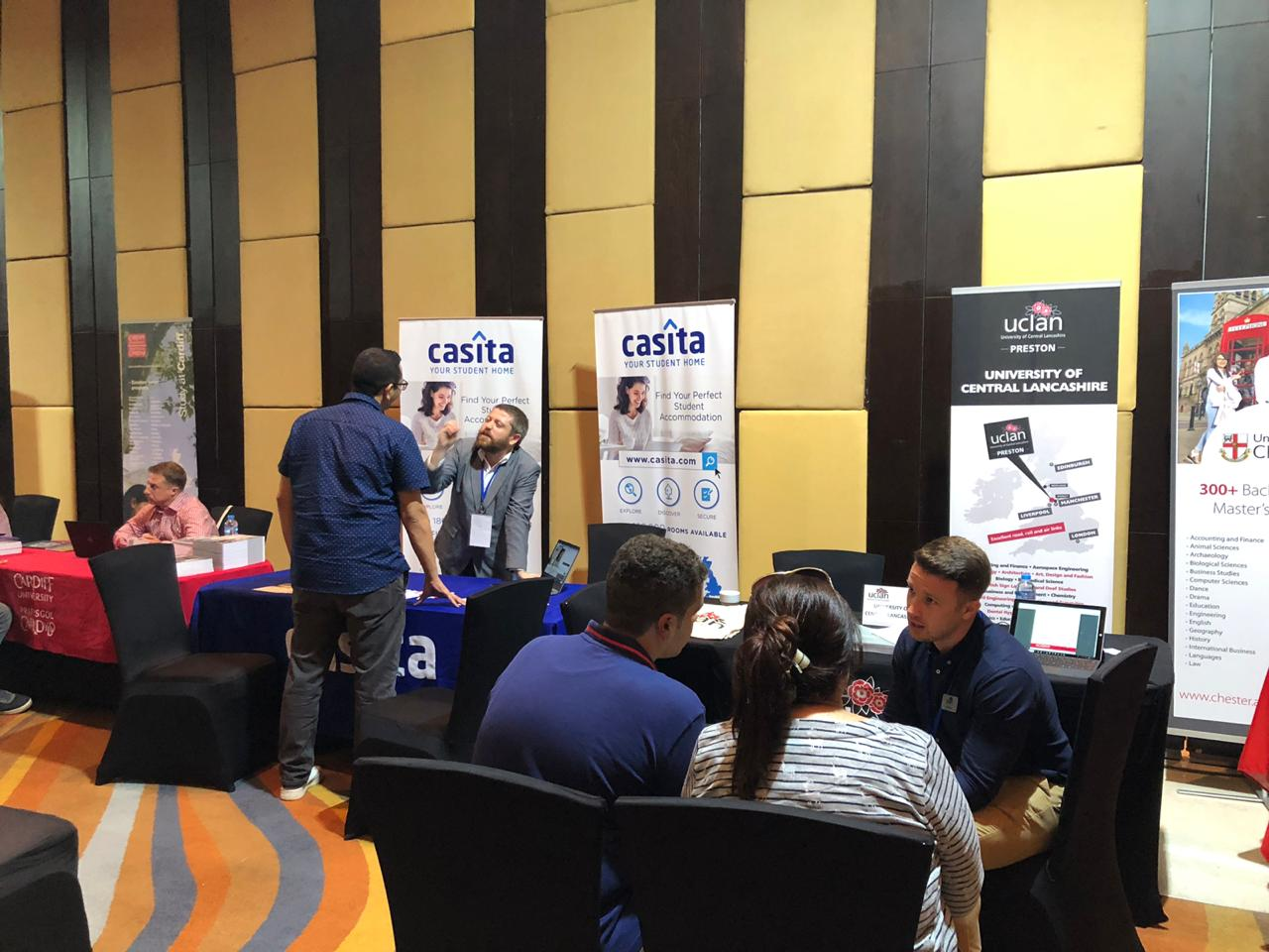 Cairo's Casita Booth for Students