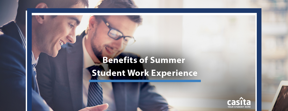 Benefits of Summer Student Work Experience