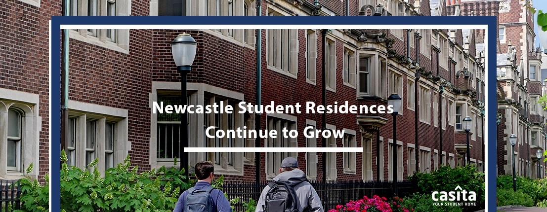 Newcastle Student Residences Continue to Grow