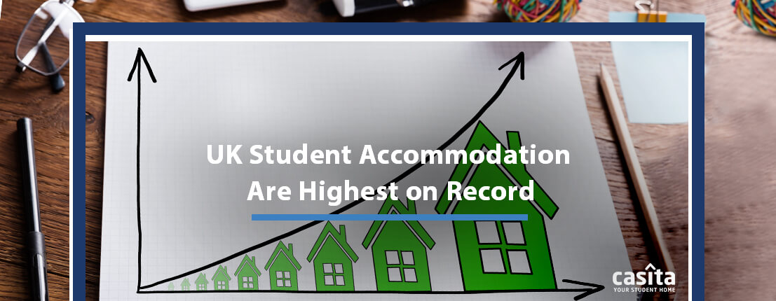 UK Student Accommodation Are Highest on Record