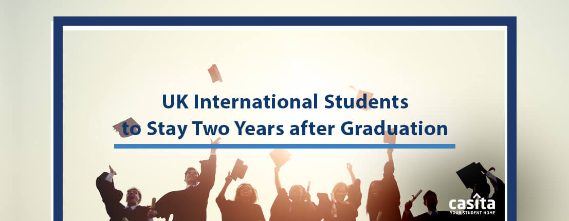 UK International Students to Stay Two Years after Graduation