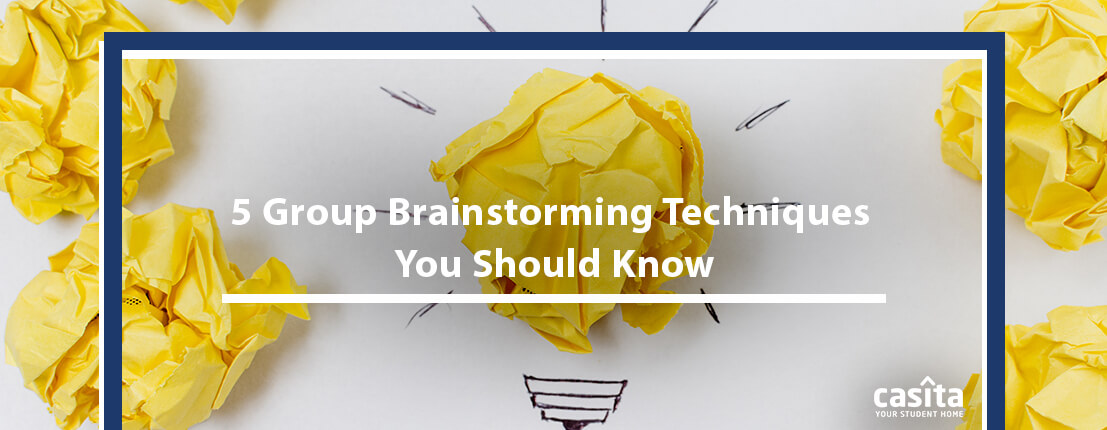 5 Group Brainstorming Techniques You Should Know