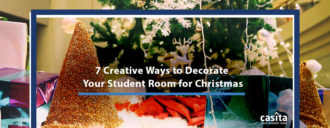 7 Creative Ways to Decorate Your Student Room for Christmas