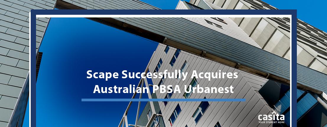 Scape Successfully Acquires Australian PBSA Urbanset