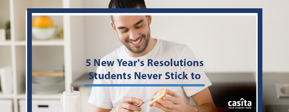 New Year's Resolutions Students Never Stick to