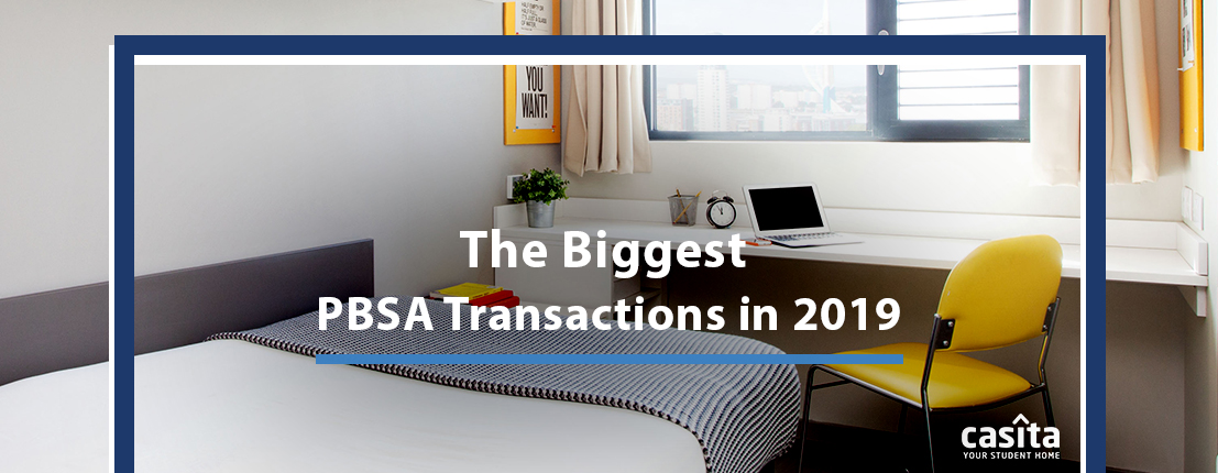 The Biggest PBSA Transactions in 2019