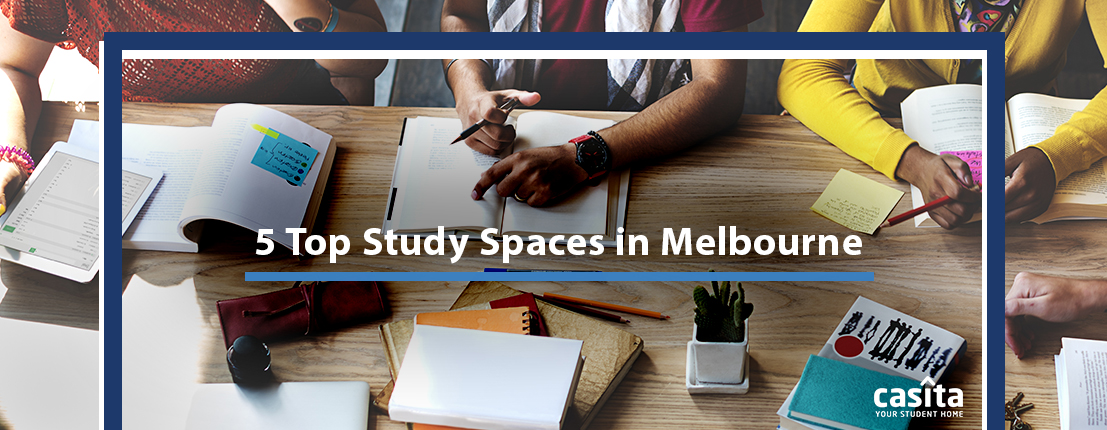 Top 5 Study Spaces in Melbourne