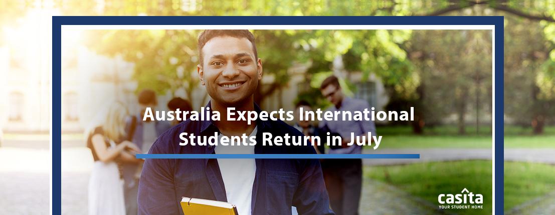 Austalia Expects International Students Return in July