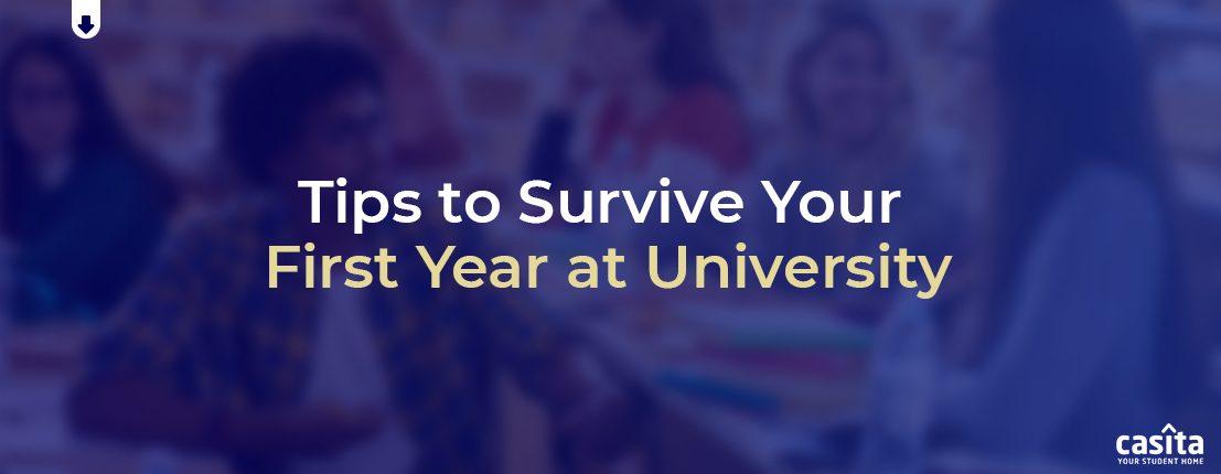 Tips to Survive Your First Year at University