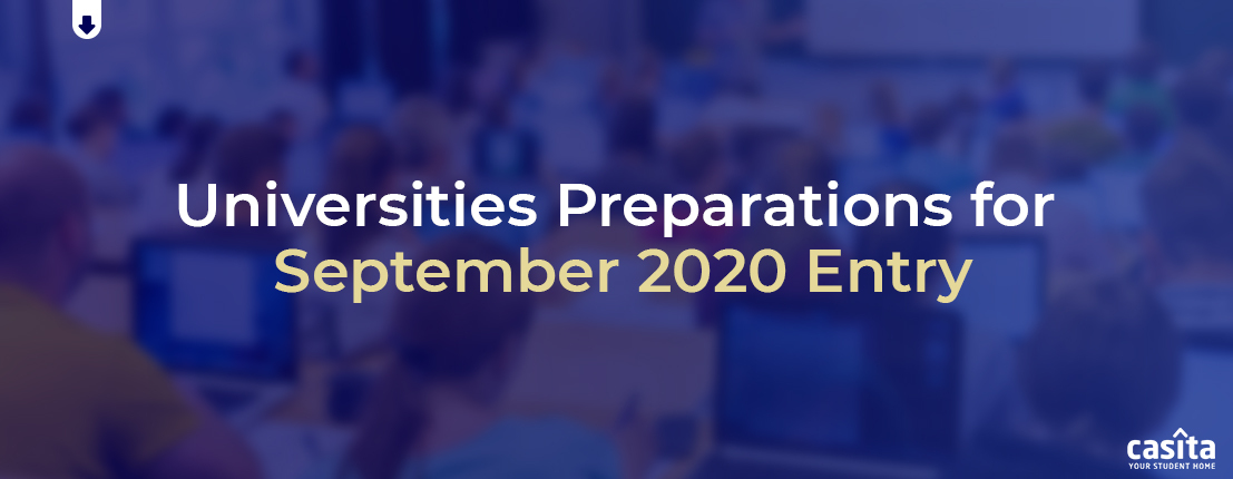 Universities Preparations for September 2020 Entry